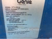GENIE INDUSTRIES MANIPULADOR TELESCÓPICO GTH5519 equipment  photo 12