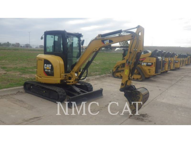 CATERPILLAR TRACK EXCAVATORS 303.5 equipment  photo 3