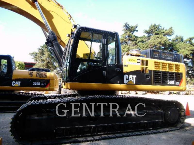 CATERPILLAR PELLES SUR CHAINES 349DL equipment  photo 2