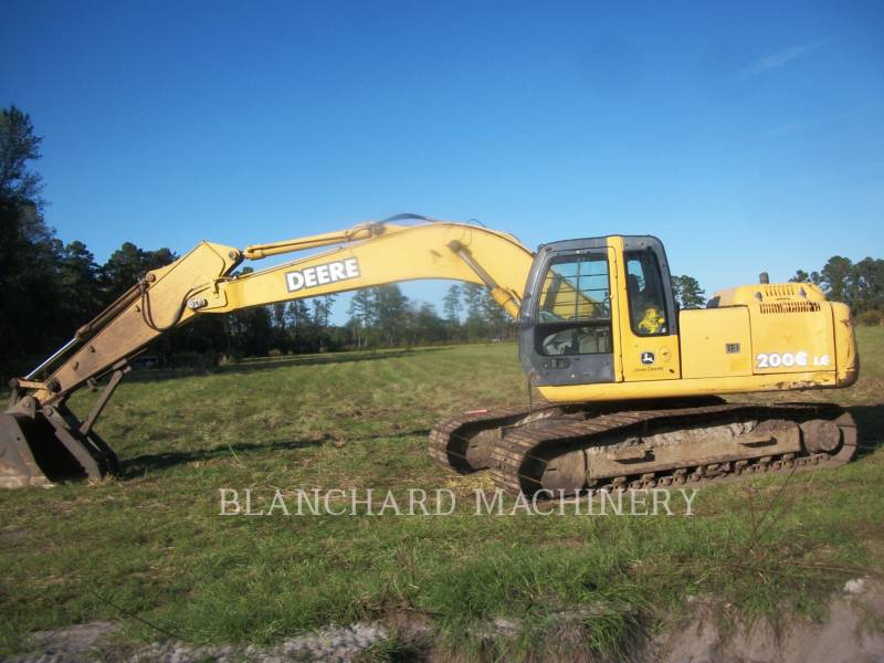 JOHN DEERE KETTEN-HYDRAULIKBAGGER 200LC equipment  photo 3
