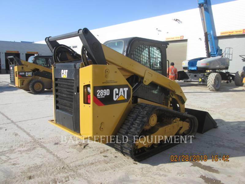 CATERPILLAR UNIWERSALNE ŁADOWARKI 289DLRC equipment  photo 4