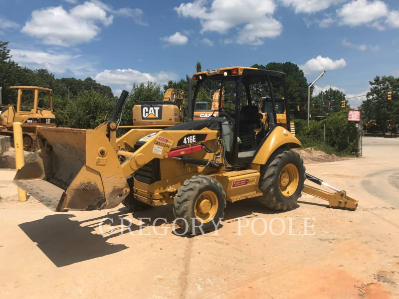 CATERPILLAR BACKHOE LOADERS 416E/4MT equipment  photo 1