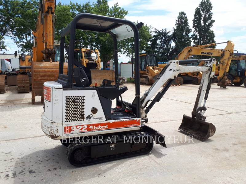 BOBCAT TRACK EXCAVATORS 322 equipment  photo 4
