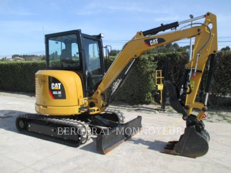CATERPILLAR TRACK EXCAVATORS 303.5E CR equipment  photo 7