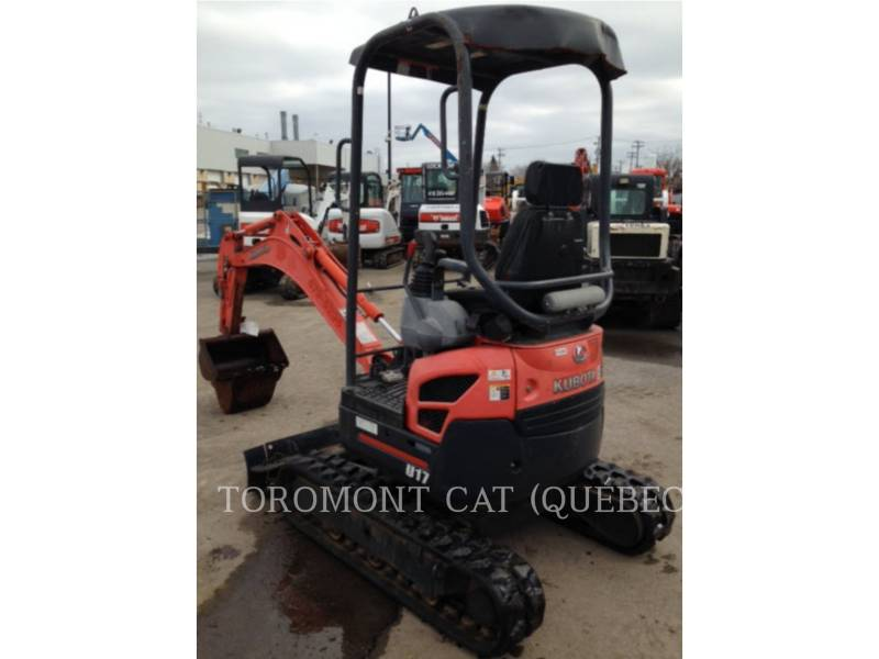KUBOTA CORPORATION EXCAVADORAS DE CADENAS U17 equipment  photo 6