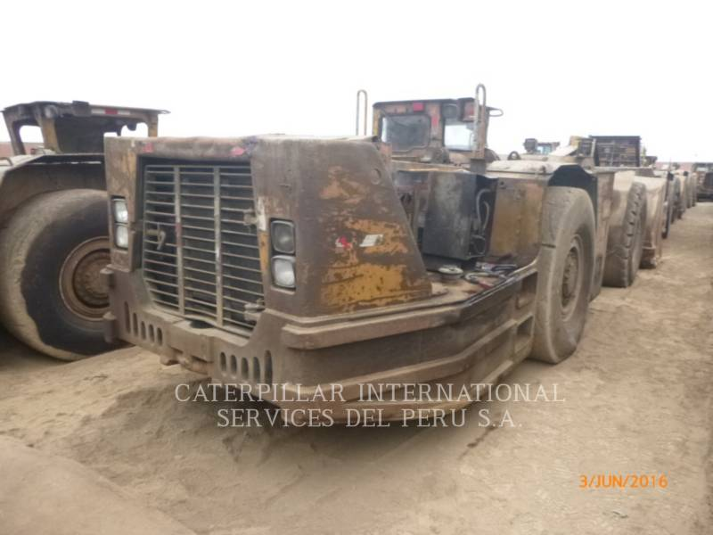 CATERPILLAR CHARGEUSE POUR MINES SOUTERRAINES R1600G equipment  photo 4