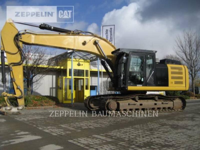 CATERPILLAR TRACK EXCAVATORS 329ELN equipment  photo 1