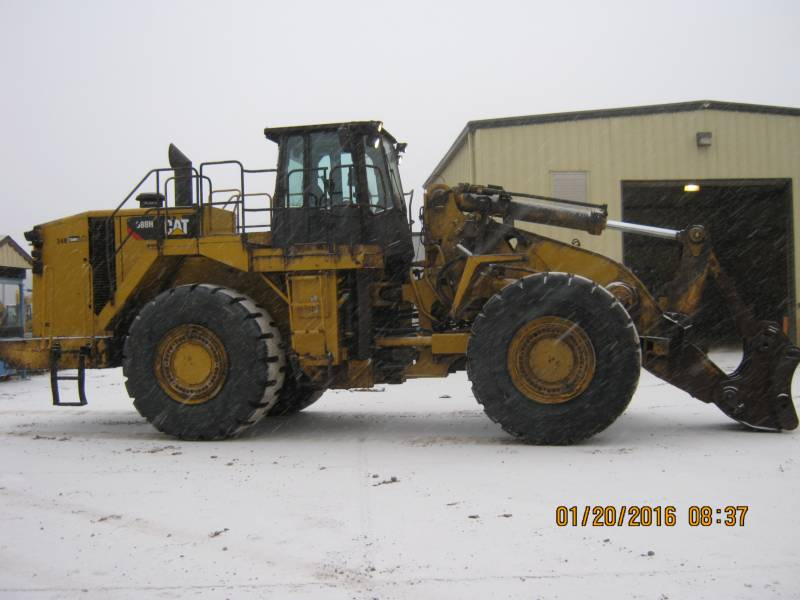 CATERPILLAR CHARGEURS SUR PNEUS MINES 988H equipment  photo 7