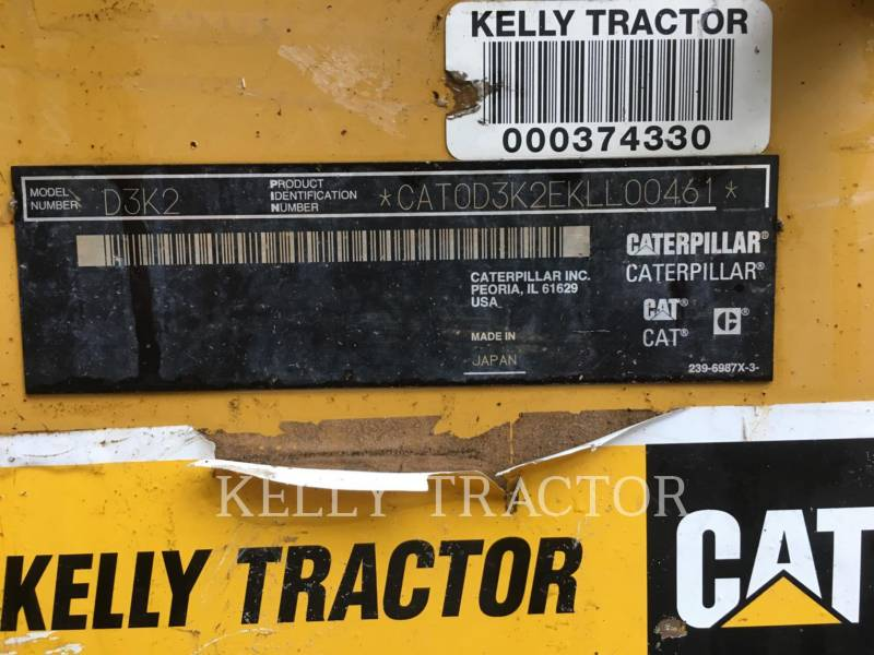 CATERPILLAR KETTENDOZER D3K2LGP equipment  photo 19