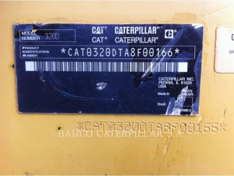 CATERPILLAR TRACK EXCAVATORS 320DL equipment  photo 10