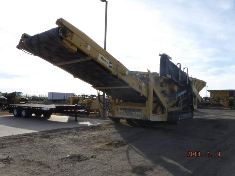 IROCK CRUSHERS SIEBE TS516 equipment  photo 2