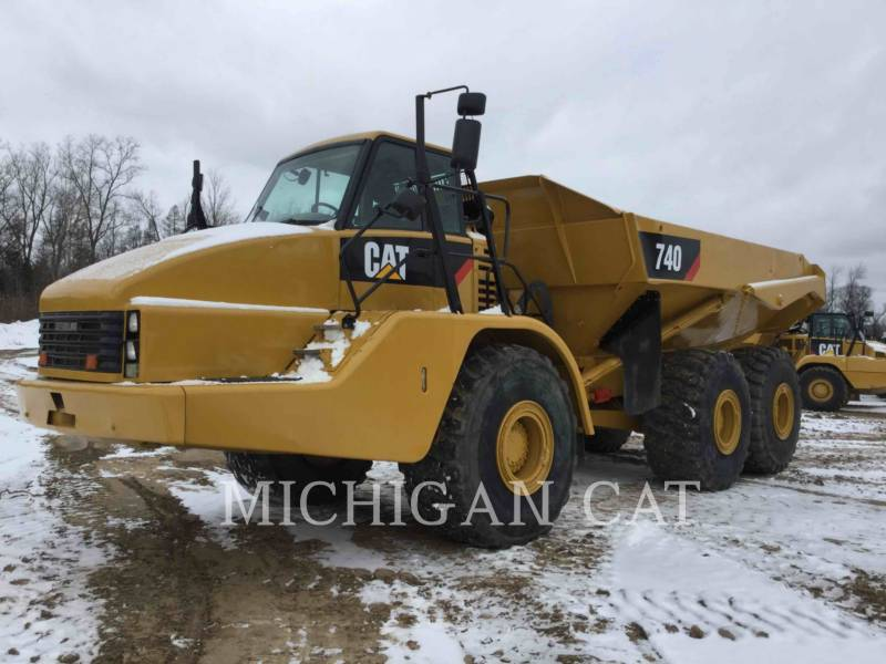 CATERPILLAR TOMBEREAUX ARTICULÉS 740 T equipment  photo 2