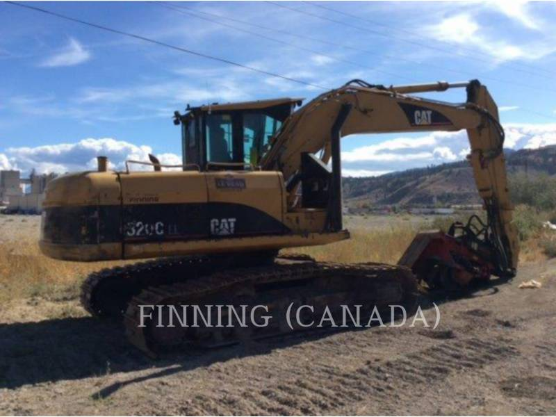 CATERPILLAR FORESTRY - PROCESSOR 320CFMHW equipment  photo 3