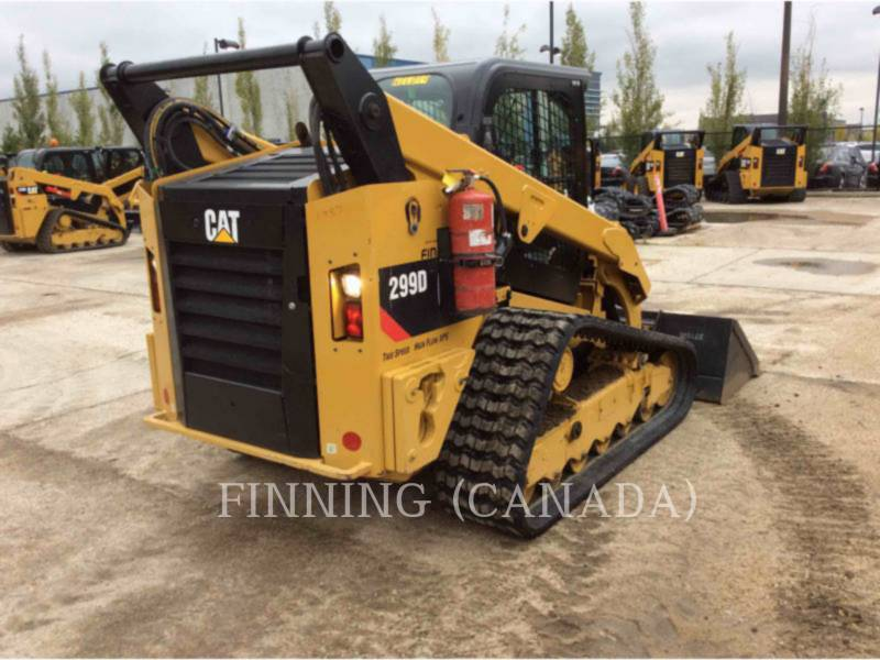 CATERPILLAR UNIWERSALNE ŁADOWARKI 299D equipment  photo 3
