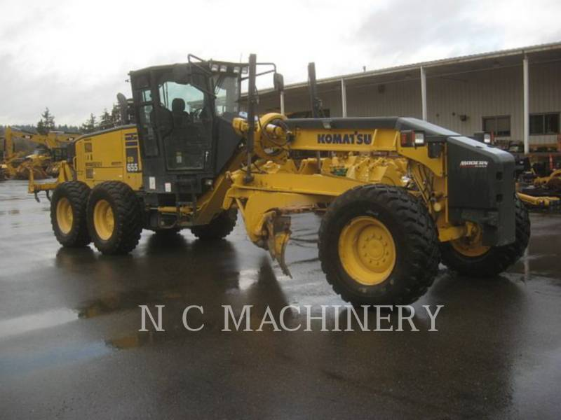 KOMATSU MOTORGRADER GD655-5 equipment  photo 2