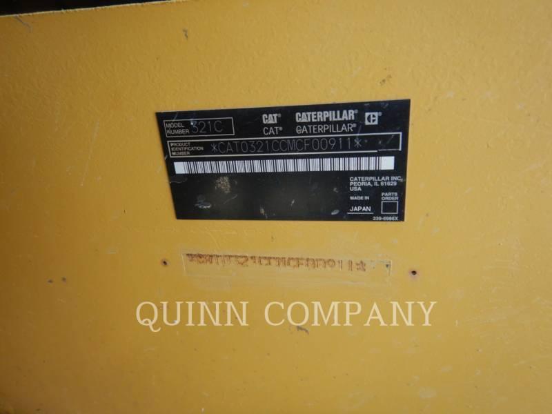 CATERPILLAR PELLES SUR CHAINES 321 C LCR equipment  photo 7