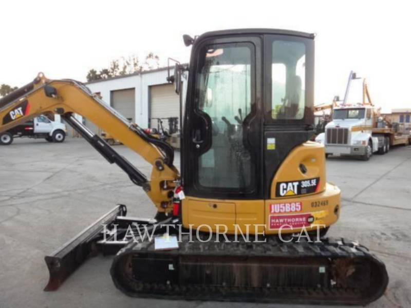 Used Caterpillar Track Excavators 2 012 305 5e Crv For