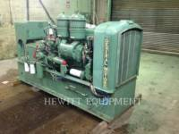 DETROIT DIESEL STATIONARY GENERATOR SETS 6-71, 100KW 120/208 VOLTS equipment  photo 1