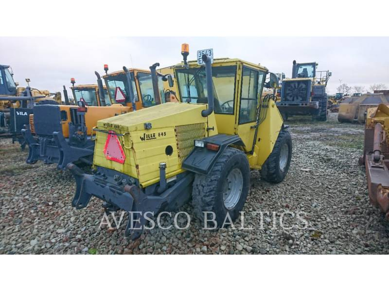 WILLE WHEEL LOADERS/INTEGRATED TOOLCARRIERS 645 equipment  photo 3