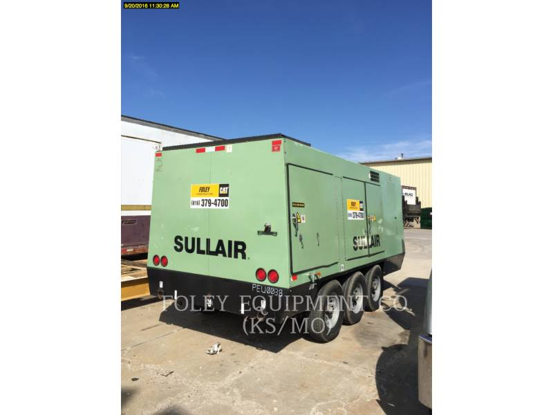 SULLAIR AIR COMPRESSOR 1150XHA900 equipment  photo 4