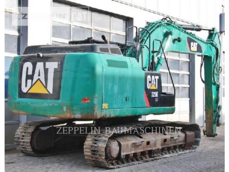CATERPILLAR KETTEN-HYDRAULIKBAGGER 329ELN equipment  photo 3