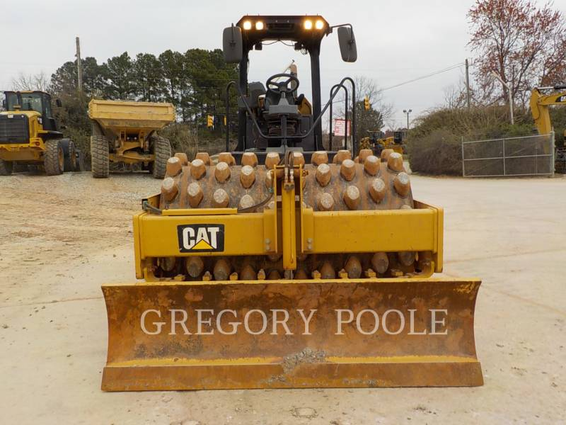 CATERPILLAR VIBRATORY SINGLE DRUM PAD CP-56B equipment  photo 7