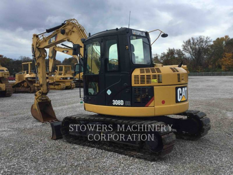 CATERPILLAR PELLES SUR CHAINES 308D equipment  photo 3