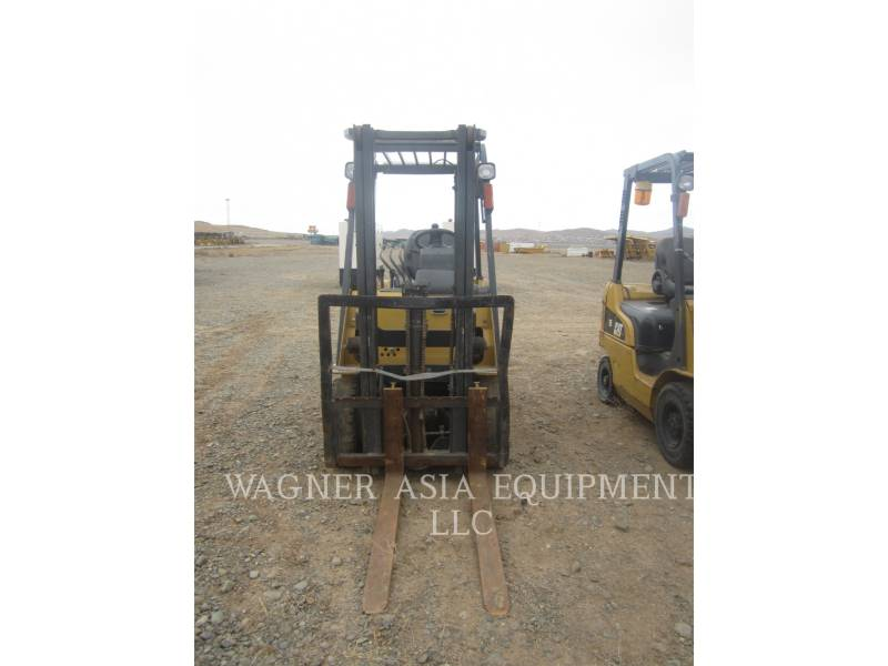 MITSUBISHI CATERPILLAR FORKLIFT FORKLIFTS DP15ND equipment  photo 5