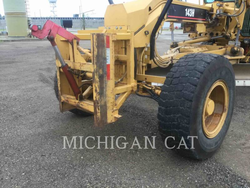 CATERPILLAR MOTOR GRADERS 143H equipment  photo 10