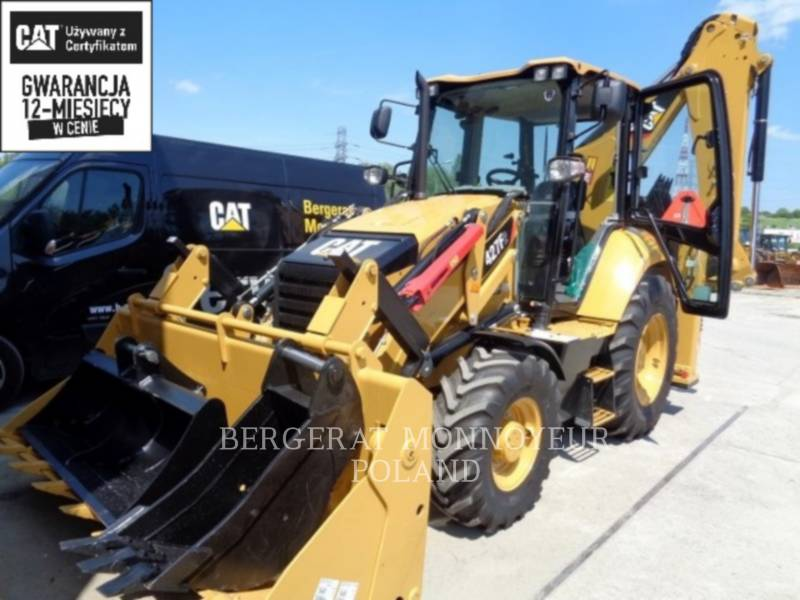 CATERPILLAR BACKHOE LOADERS 427 F 2 equipment  photo 1