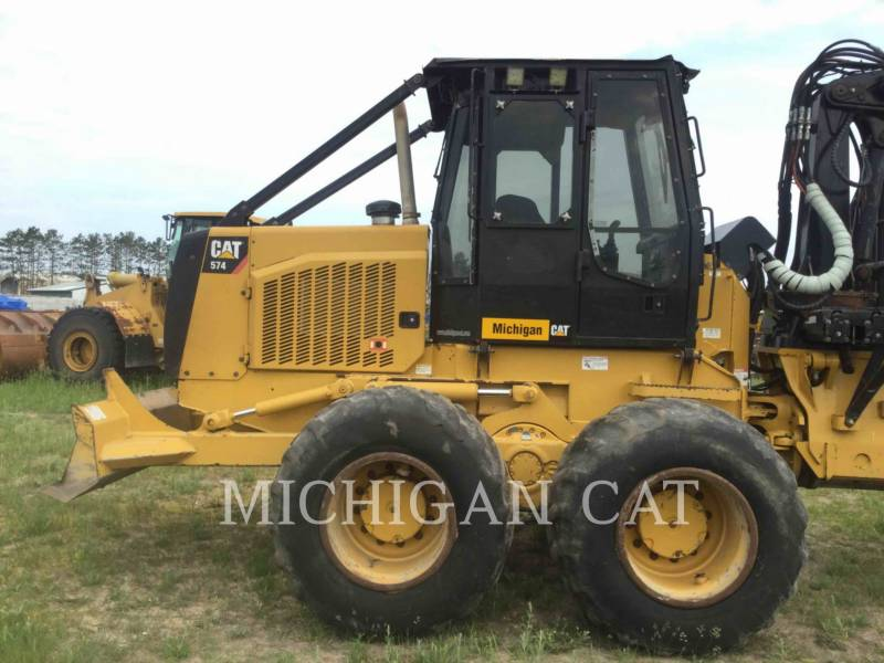 CATERPILLAR FOREST MACHINE 574 equipment  photo 17