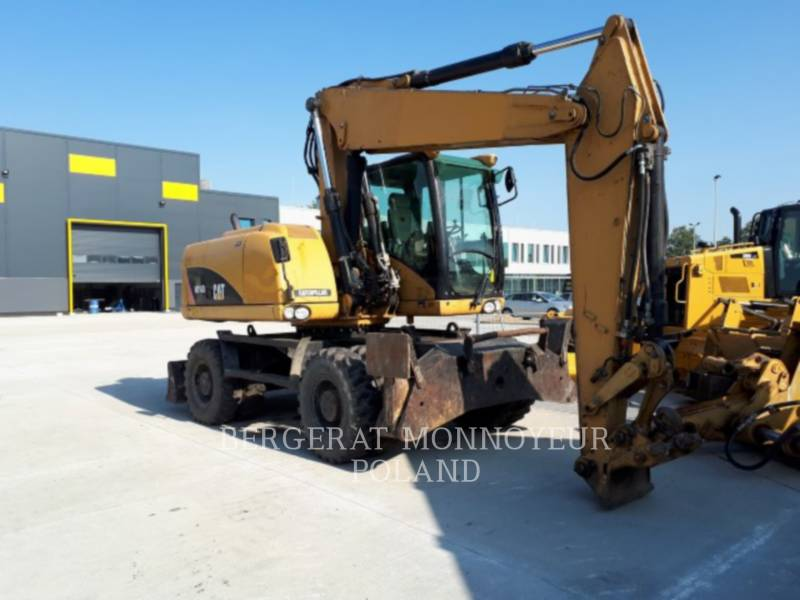 CATERPILLAR WHEEL EXCAVATORS M316D equipment  photo 1
