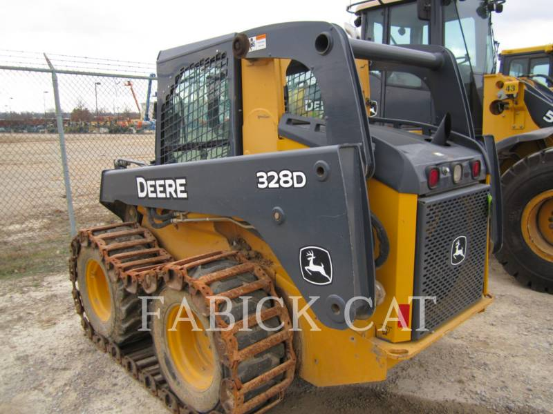 DEERE & CO. CHARGEURS COMPACTS RIGIDES 328E equipment  photo 3