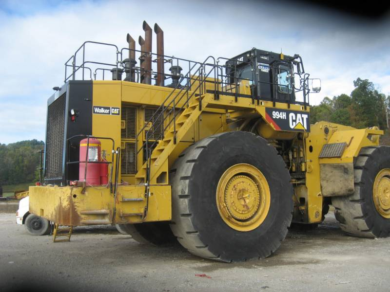 CATERPILLAR CHARGEURS SUR PNEUS MINES 994H equipment  photo 3
