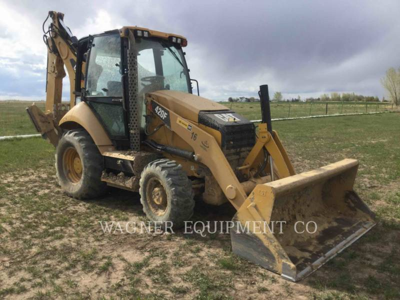 CATERPILLAR RETROESCAVADEIRAS 420F 4WDE equipment  photo 4