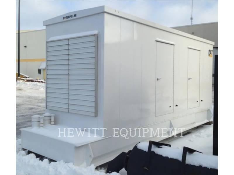 CATERPILLAR STATIONARY GENERATOR SETS 3406 ENCLOSED 300KW 600 V equipment  photo 1