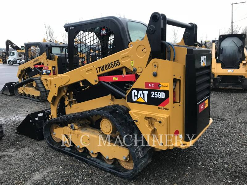 CATERPILLAR MULTI TERRAIN LOADERS 259D equipment  photo 5