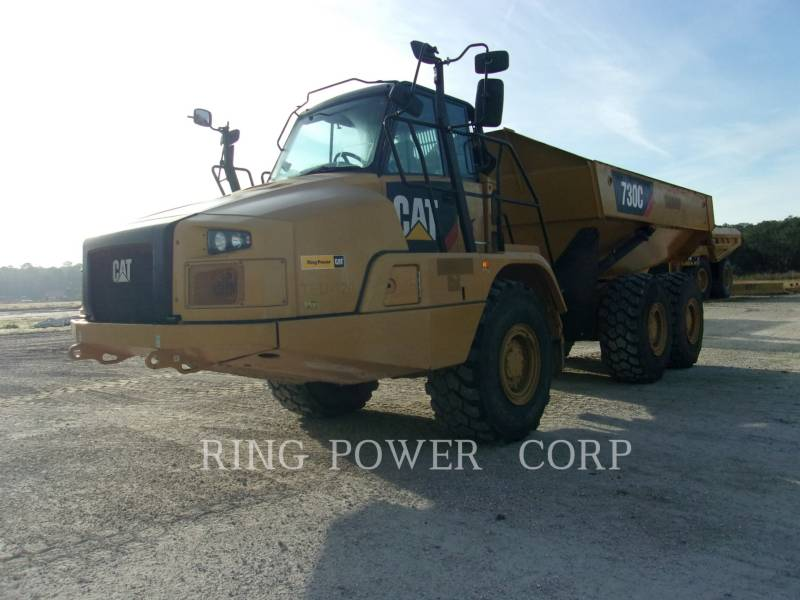 CATERPILLAR ARTICULATED TRUCKS 730CTG equipment  photo 1