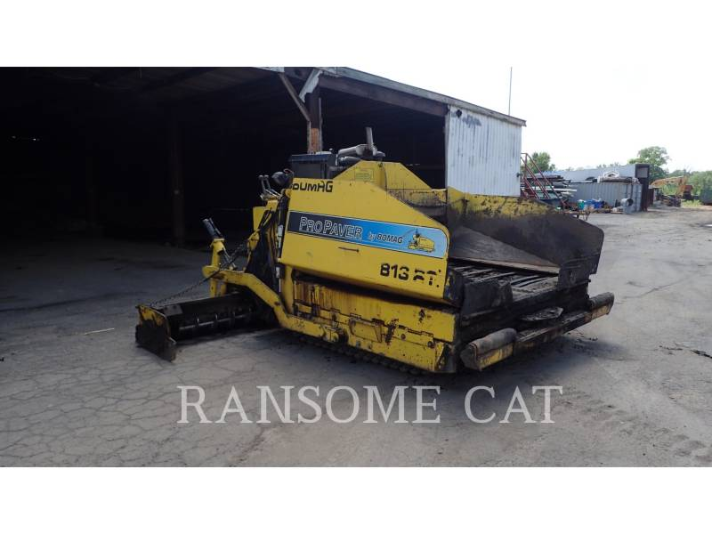 BOMAG ASPHALT PAVERS 813RT equipment  photo 6