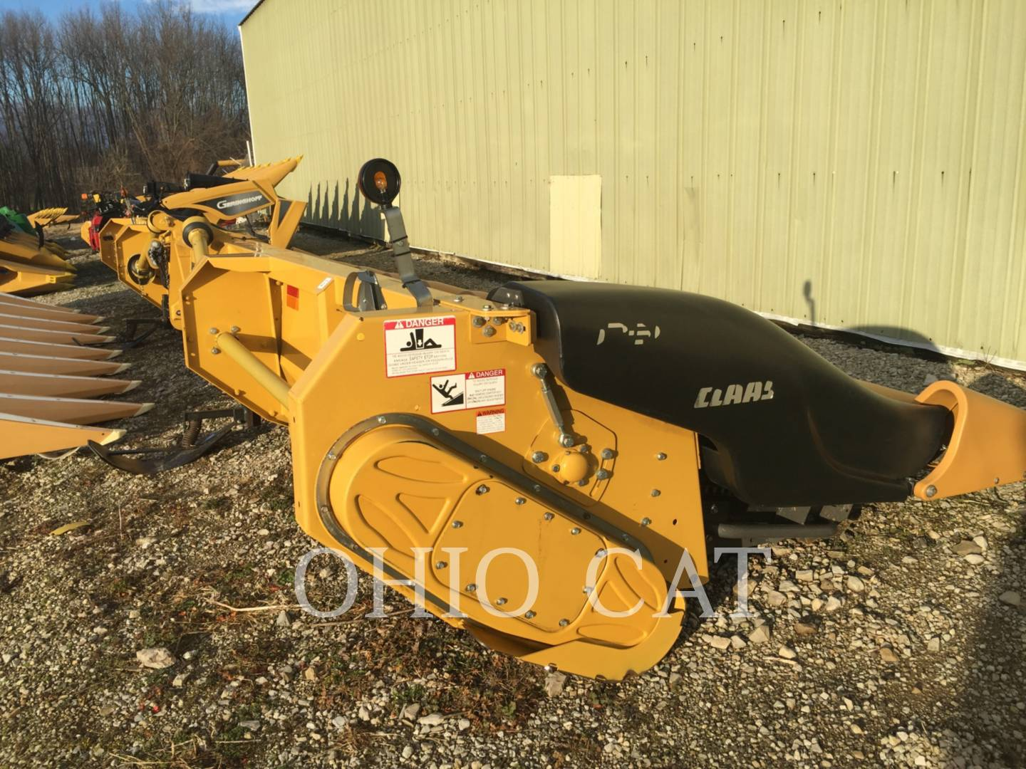 Detail photo of 2011 Claas LEXC1230 from Construction Equipment Guide