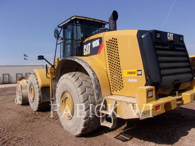 CATERPILLAR WHEEL LOADERS/INTEGRATED TOOLCARRIERS 980K4 equipment  photo 5