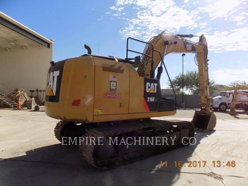 CATERPILLAR トラック油圧ショベル 316EL    P equipment  photo 2