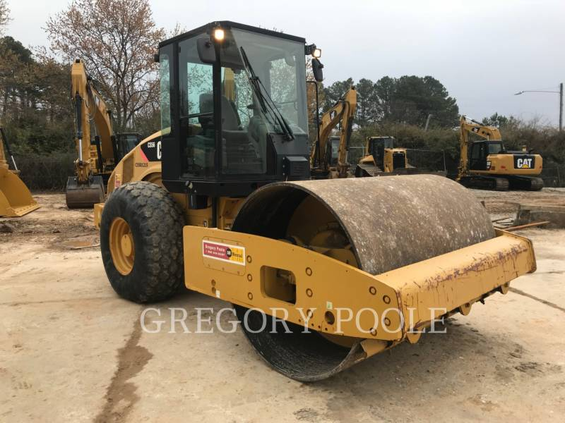 CATERPILLAR COMPACTEUR VIBRANT, MONOCYLINDRE LISSE CS56 equipment  photo 6