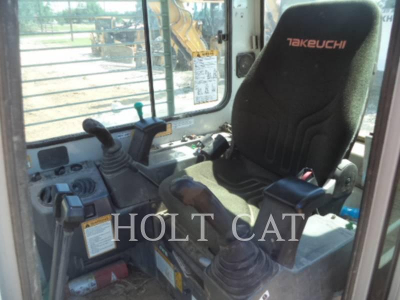 TAKEUCHI MFG. CO. LTD. ESCAVATORI CINGOLATI TB180FR equipment  photo 10