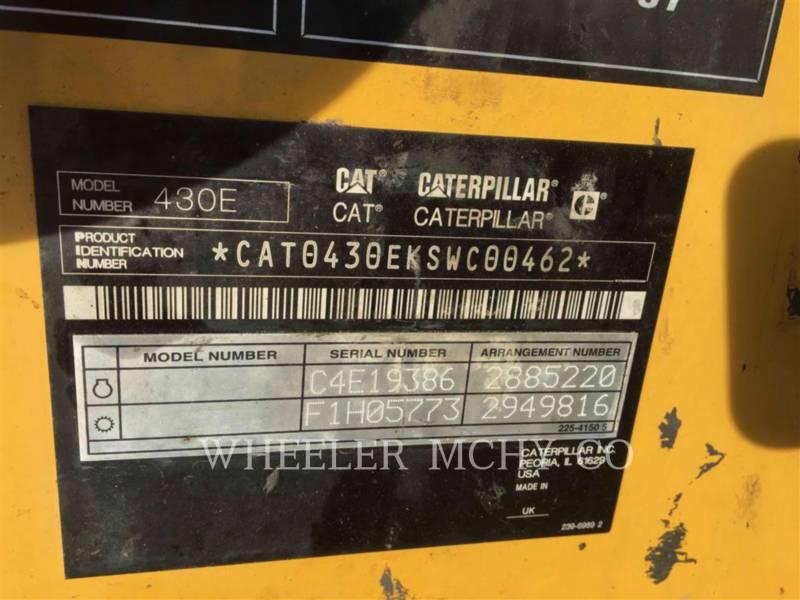 CATERPILLAR BACKHOE LOADERS 430E E MP equipment  photo 5