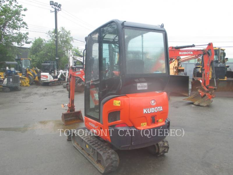 KUBOTA CORPORATION TRACK EXCAVATORS KX018-4 equipment  photo 4