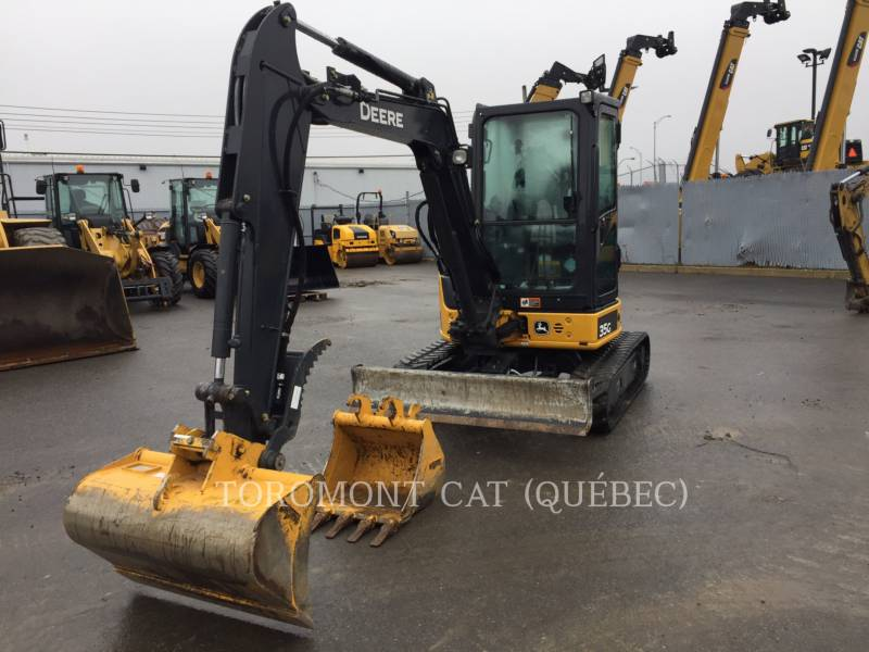 JOHN DEERE EXCAVADORAS DE CADENAS 35G equipment  photo 2