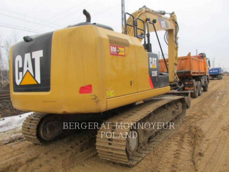 CATERPILLAR EXCAVADORAS DE CADENAS 320 E L equipment  photo 7