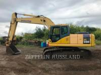 Equipment photo KOMATSU PC 200 PELLES SUR CHAINES 1