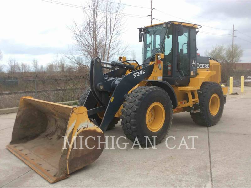 JOHN DEERE CARGADORES DE RUEDAS 524K equipment  photo 2